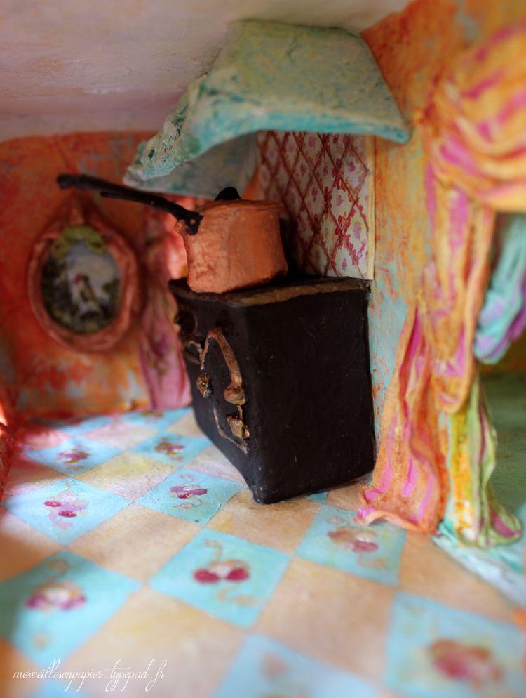 Maison de poupée cuisine 2