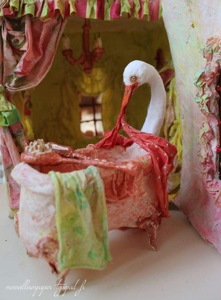 Maison de poupée- baignoire