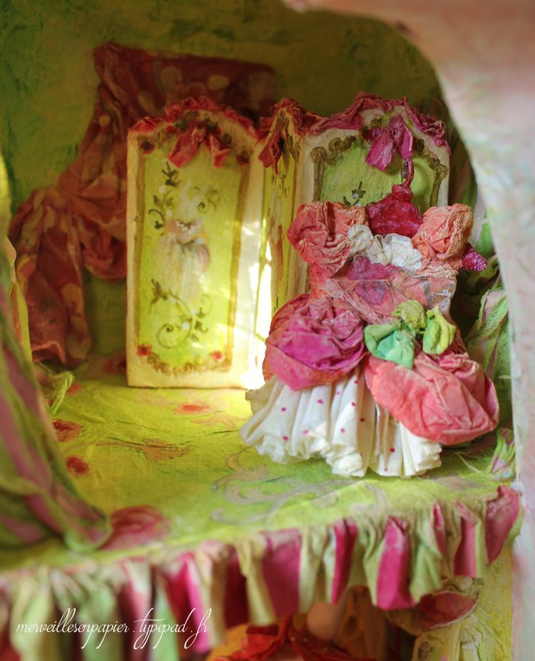 Maison de poupée paravent 1