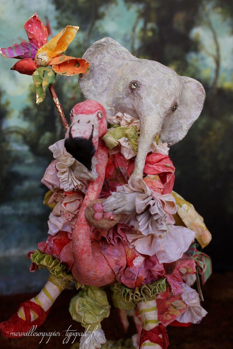 Elephant-flamant-1