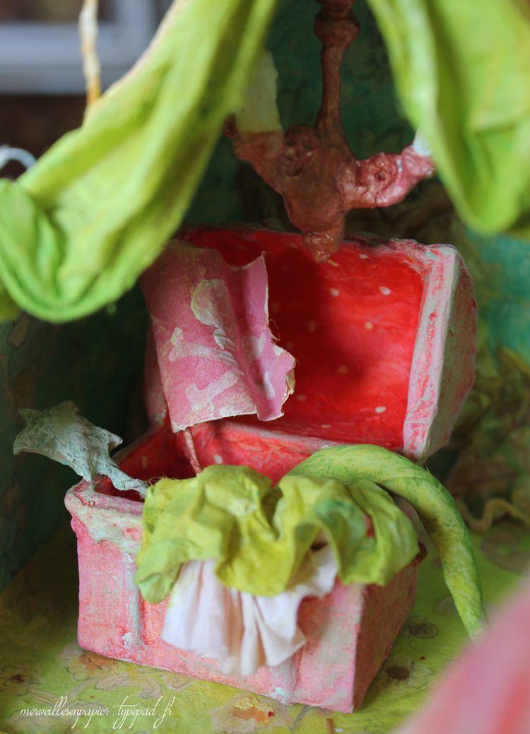 Maison de poupée -coffre